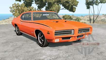 Pontiac GTO The Judge 1969 для BeamNG Drive
