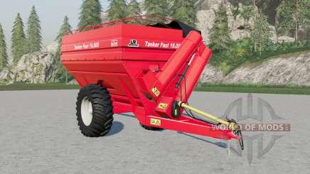 Jan Tanker Fasᵵ 19.000 для Farming Simulator 2017