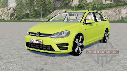 Volkswagen Golf R Variant (Typ 5G) 2015 для Farming Simulator 2017
