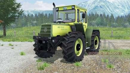 Mercedes-Benz Trac 1500 Turbꝍ для Farming Simulator 2013