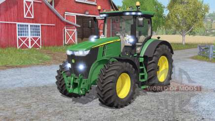 John Deere 7290R & 7310Ɍ для Farming Simulator 2017
