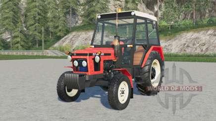 Zetoɾ 7011 для Farming Simulator 2017