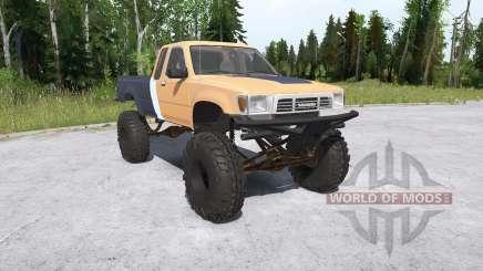 Toyota Hilux Xtra Cab crawler для MudRunner