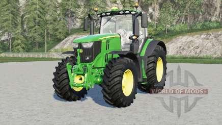 John Deere 6R-seɼies для Farming Simulator 2017