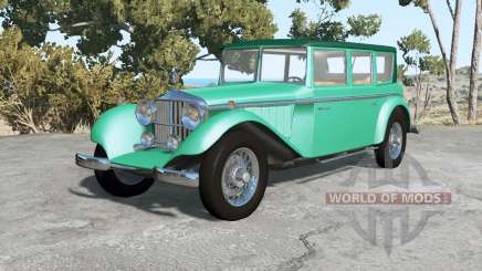 Auriga Heron 1927 v2.0 для BeamNG Drive