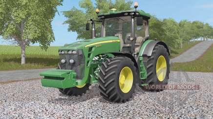 John Deere 8320R & 8370Ꞧ для Farming Simulator 2017