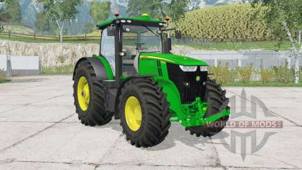 John Deere 7290R & 8370Ɍ для Farming Simulator 2015