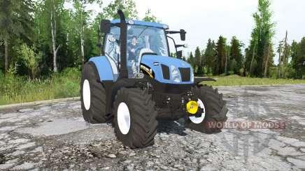 New Holland T6.160 для MudRunner