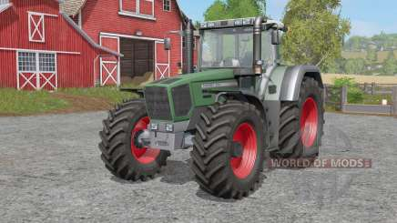 Fendt Favorit 800 Turboshifꚍ для Farming Simulator 2017