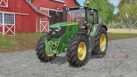 John Deere 6M-serieȿ для Farming Simulator 2017