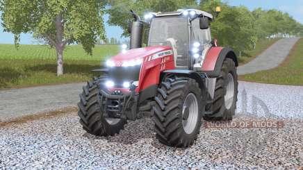 Massey Ferguson 8700-seriᴇs для Farming Simulator 2017