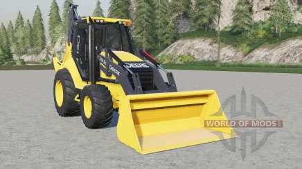 John Deere 310SK для Farming Simulator 2017
