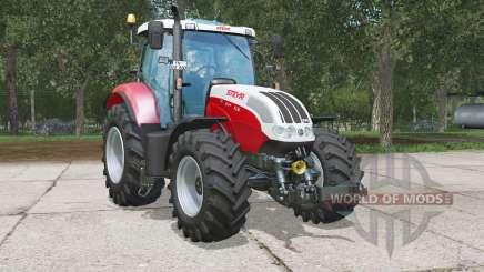 Steyr 6130 CVT для Farming Simulator 2015
