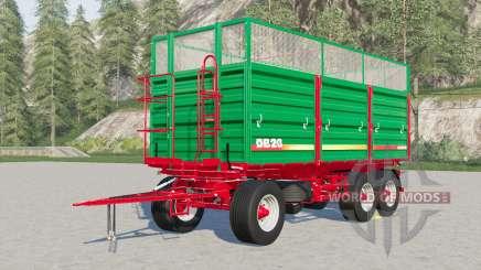 Metaltech DB 6〡8〡10〡12〡14〡20 для Farming Simulator 2017