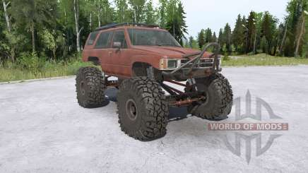 Toyota 4Runner (LN61) lifted для MudRunner