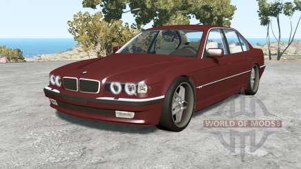 BMW 750iL (E38) 1998 v1.18 для BeamNG Drive
