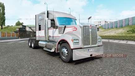 Kenworth W990 v1.2.3 для Euro Truck Simulator 2