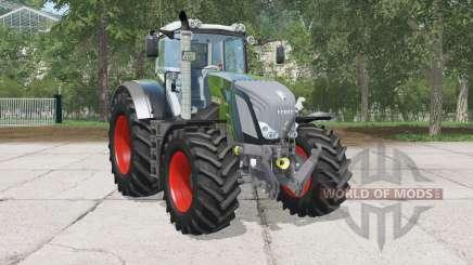 Fendt 828 Vario Black Beautұ для Farming Simulator 2015