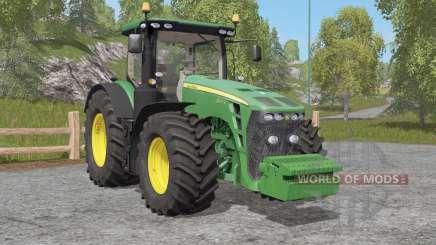 John Deere 8R-seꭇies для Farming Simulator 2017