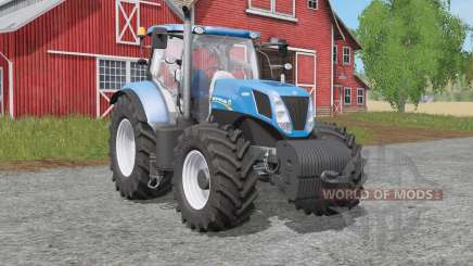 New Holland T7-seᵳies для Farming Simulator 2017