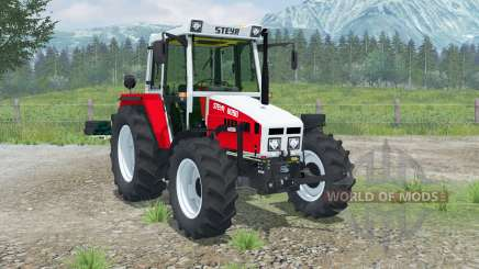 Steyr 8090A Panorama для Farming Simulator 2013
