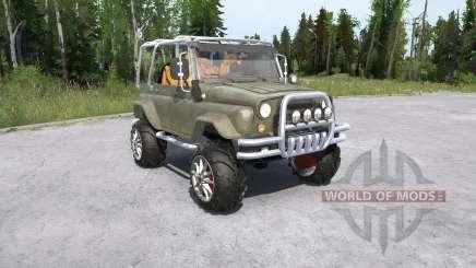 УАЗ-469 Охотник для MudRunner