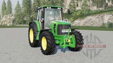 John Deere 6030 Premiuꬺ для Farming Simulator 2017