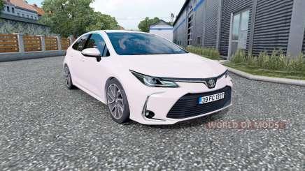 Toyota Corolla hybrid sedan 2020 для Euro Truck Simulator 2