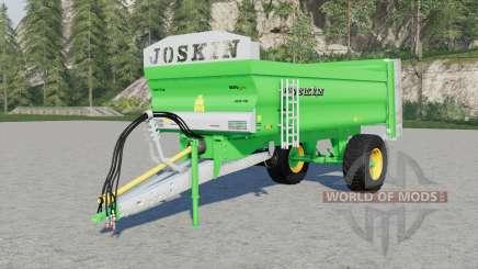 Joskin Ferti-Cap 4008-9U & 5508-12U для Farming Simulator 2017