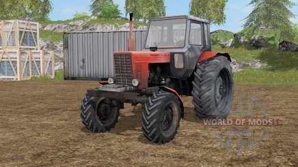 МТЗ-82 Белаᶈус для Farming Simulator 2017