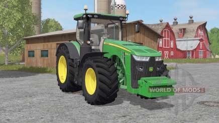 John Deere 8R-seɽies для Farming Simulator 2017