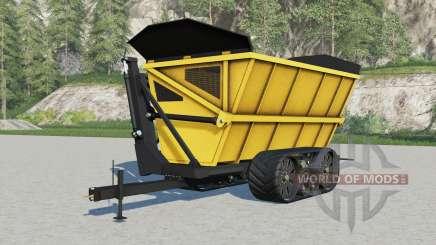 Oxbo dump cart для Farming Simulator 2017