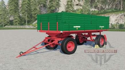 Krone DK 220-৪ для Farming Simulator 2017