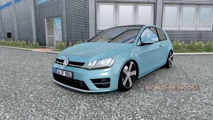 Volkswagen Golf R-Line (Typ 5G) 2013 v2.0 для Euro Truck Simulator 2