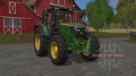 John Deere 6M-serieꜱ для Farming Simulator 2017