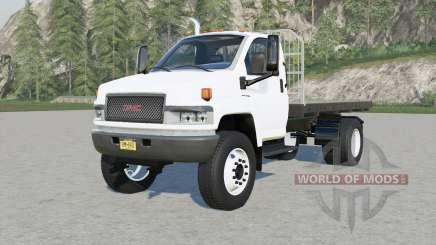 GMC TopKick C4500 Regular Cab Flatbed для Farming Simulator 2017