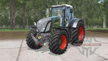 Fendt 828 Vario Black Beautɤ для Farming Simulator 2015