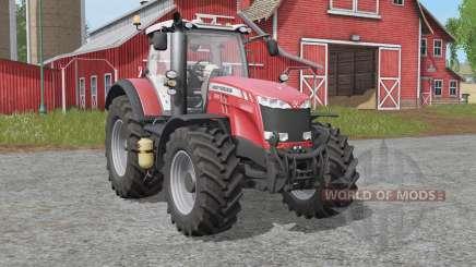 Massey Ferguson 8700-seriᶒs для Farming Simulator 2017