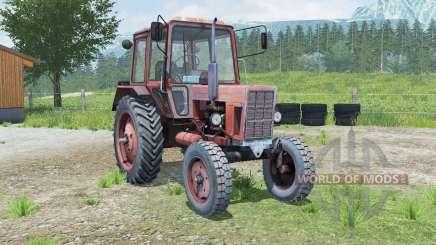 МТЗ-80 Беларуꞔ для Farming Simulator 2013