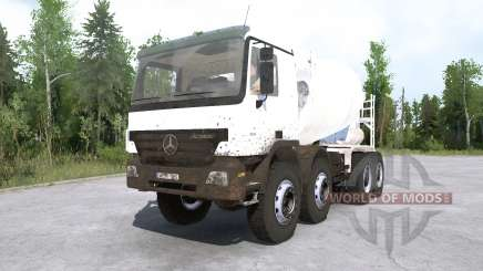 Mercedes-Benz Actros 4141 (MP2) 2002 для MudRunner