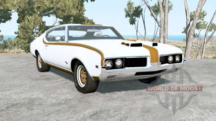 Oldsmobile 442 Hurst holiday coupe (4487) 1969 для BeamNG Drive