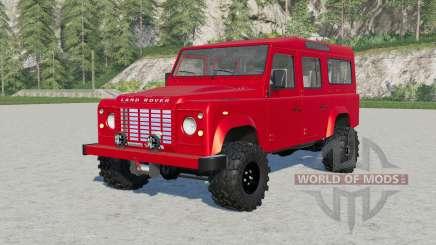 Land Rover Defender 110 Station Wagon для Farming Simulator 2017