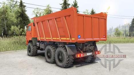 КамАЗ 65222 для Spin Tires
