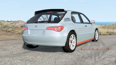 Hirochi Sunburst hatchback v1.15 для BeamNG Drive