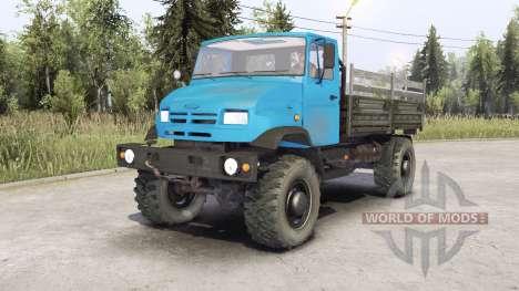 ЗиЛ-43273Н для Spin Tires