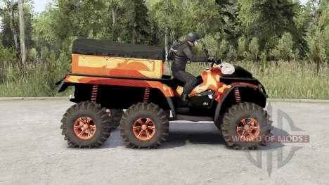 Can-Am Outlander 6x6 для Spin Tires