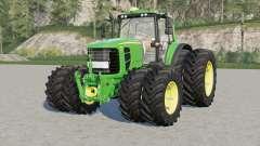 John Deere 7030 Premiuꝳ для Farming Simulator 2017