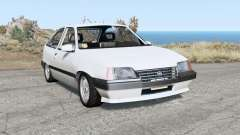 Opel Kadett 3-door (E) 1986 для BeamNG Drive