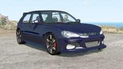 Hirochi Sunburst hatchback v1.16 для BeamNG Drive