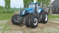 New Hollaᶇd T8.320 для Farming Simulator 2015